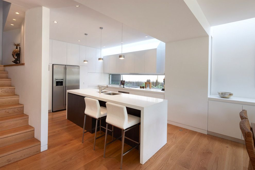 Spencers Appliance for a Contemporary Kitchen with a Stainless Steel and Spencer Rd Mosman by Sandberg Schoffel Architects