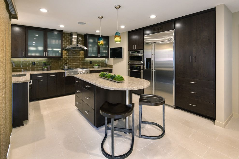 Spencers Appliance for a Transitional Kitchen with a Wood Cabinets and Irvine Ca by Ferguson Bath, Kitchen & Lighting Gallery