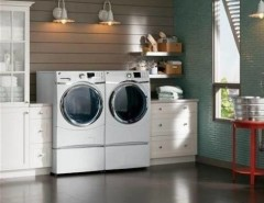 Spencers Appliances for a  Laundry Room with a  and GE Washer and Dryer by Spencer's TV and Appliance