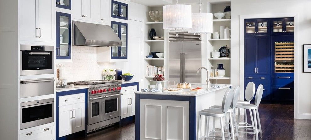 Spencers Appliances for a  Spaces with a Wolf Subzero Kitchen and Brands by Spencers Tv and Appliance