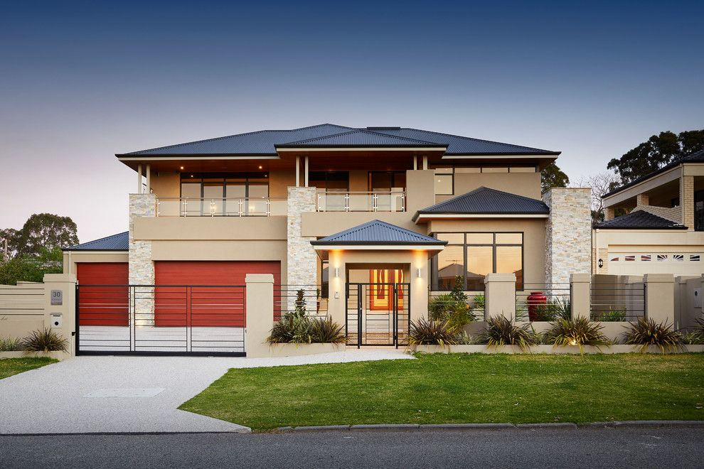 St Aubyn Homes for a Contemporary Exterior with a Big and Challenger Pl, Melville by Nulook Homes
