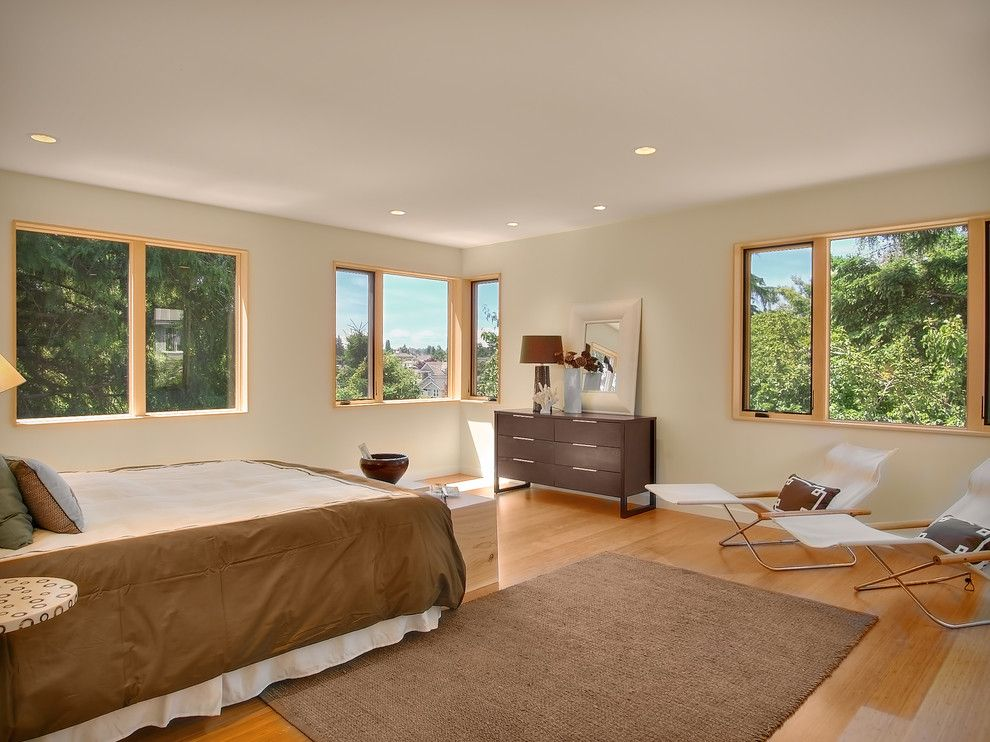 Stardust Building Supplies for a Modern Bedroom with a Recliners and Greenlake Modern Home by Fivedot