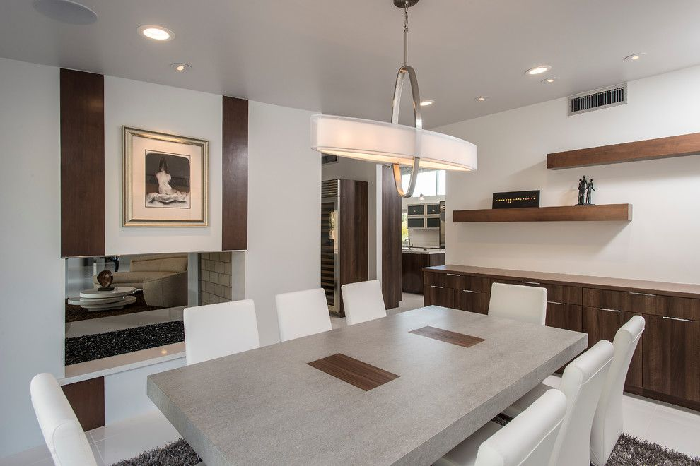 Starion for a Contemporary Dining Room with a Structural Steel and Contemporary Interiors by Starion Custom Residences