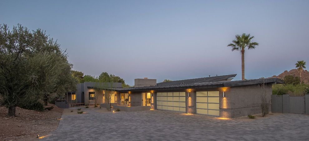 Starion for a Contemporary Exterior with a Elevations and Contemporary by Starion Custom Residences