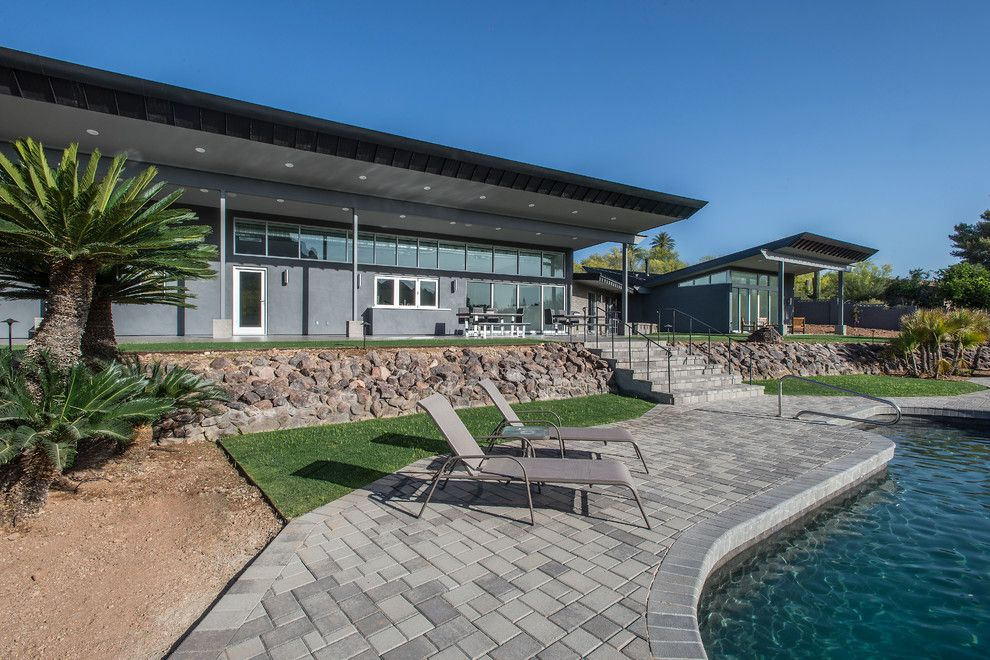 Starion for a Contemporary Exterior with a Strorefront Glazing and Contemporary by Starion Custom Residences