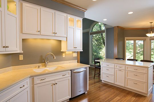 Starmark Cabinets for a Traditional Kitchen with a White Kitchen Cabinets and Kitchen & Bathroom Remodel in Central Sioux Falls by Today's Starmark Custom Cabinetry & Furniture