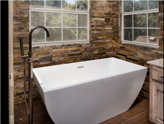Statewide Remodeling for a Contemporary Bathroom with a Bathtubs and Bathroom Remodels by Statewide Remodeling
