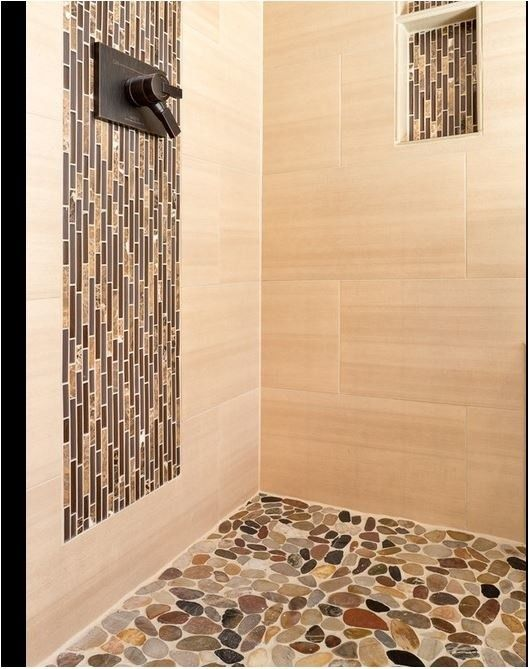 Statewide Remodeling for a Contemporary Bathroom with a Modern Bathroom and Bathroom Remodels by Statewide Remodeling