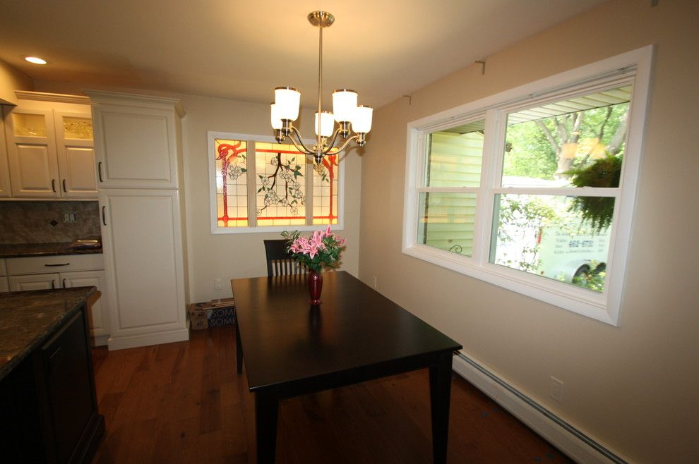 Statewide Remodeling for a Traditional Kitchen with a Kitchen Makeover and New Energy Star Windows by Bennett Contracting, Inc.