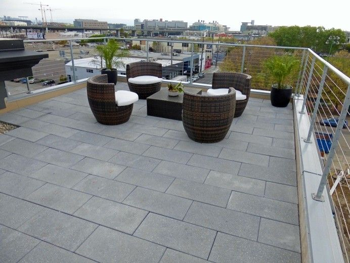 Stepstone Inc for a Contemporary Patio with a Calarc and De Haro in San Francisco Ca by Stepstone Inc