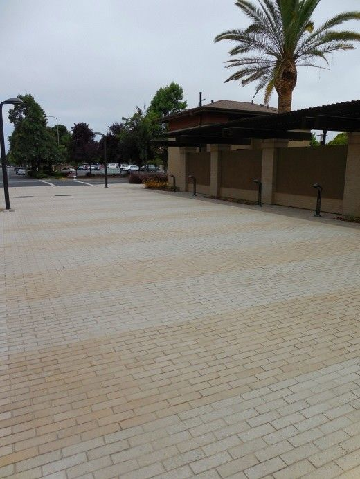 Stepstone Inc for a Traditional Landscape with a Concrete Pavers and Paragon in Fremont by Stepstone Inc