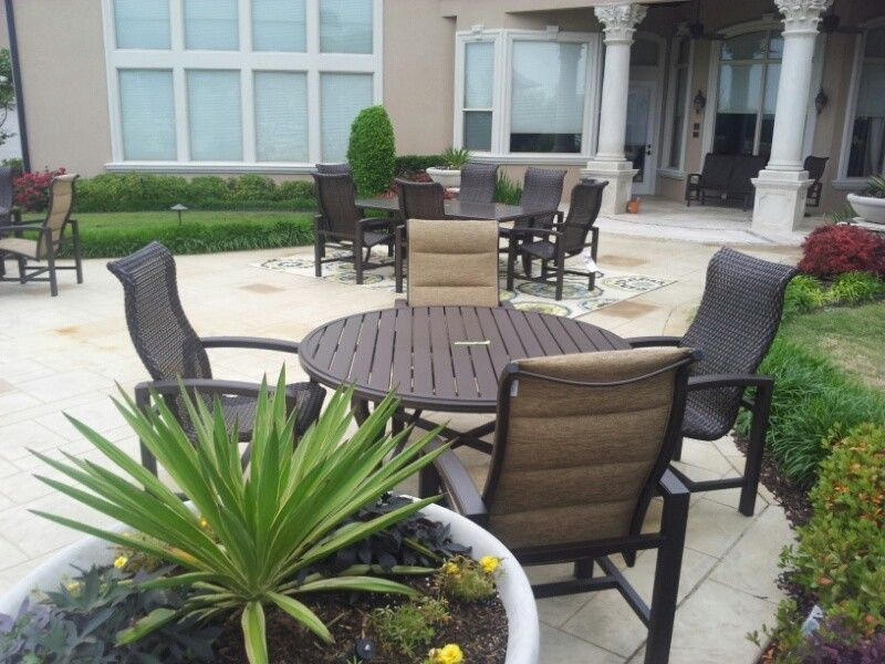 Traditional Outdoor Furniture Part - 17: Sunnyland Furniture For A Traditional Patio With A Fort Worth And Best  Patios In North Texas