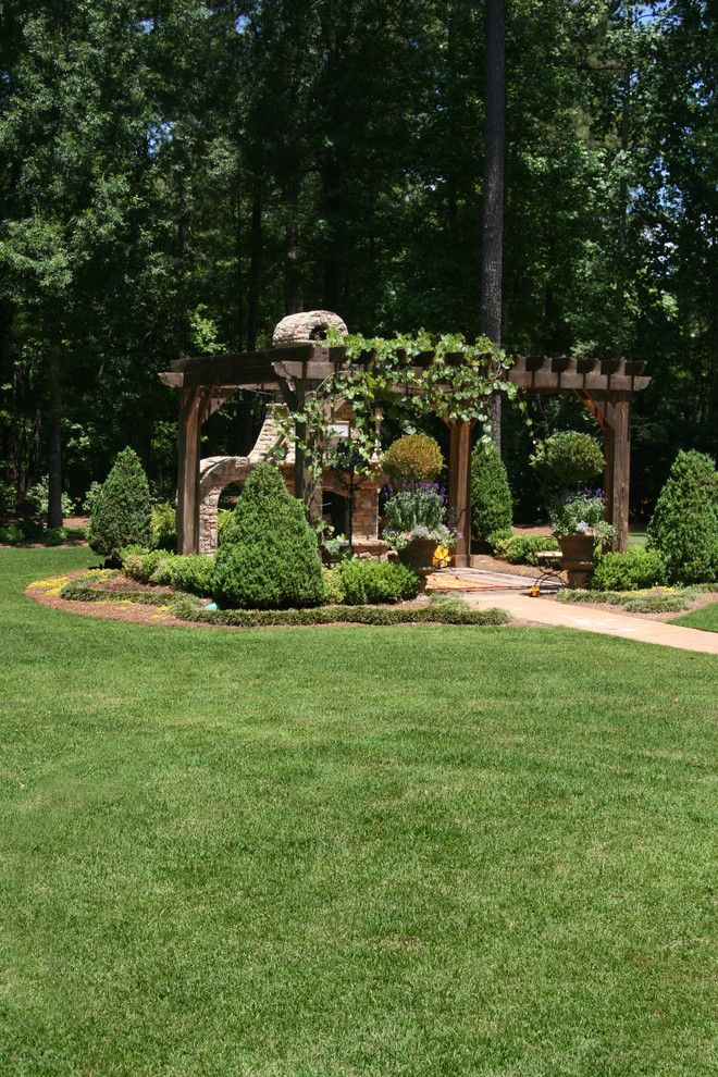 Super Sod for a Contemporary Landscape with a Lawn Garden and Leisure Time(r) Zoysia Garden by Super Sod
