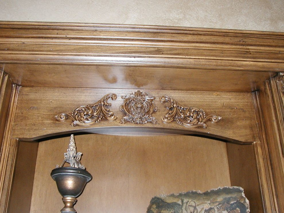 Superior Moulding for a  Spaces with a Onlay Crown Moulding and Frazier by Superior Moulding of Nevada