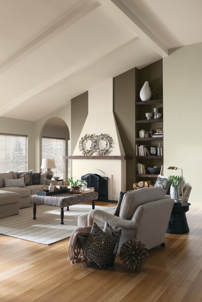 Supersod for a Contemporary Living Room with a Contemporary and Sherwin Williams by Sherwin Williams