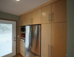 Swenson Granite for a Modern Kitchen with a Maple Cabinets and Swenson Remodel by Imperial Home Improvement