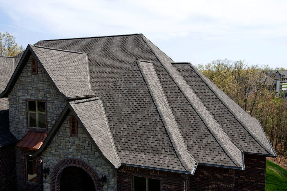 Tamko Heritage for a  Spaces with a Brown Roof and Residential Roofing by TAMKO Building Products, Inc.