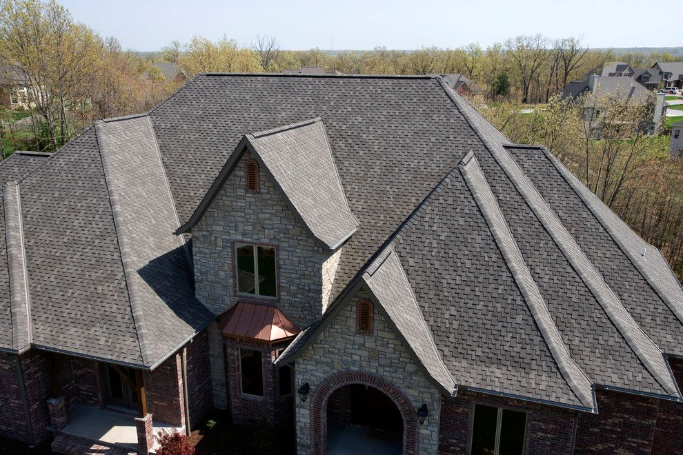 Tamko Heritage for a  Spaces with a Grey Roof and Residential Roofing by Tamko Building Products, Inc.
