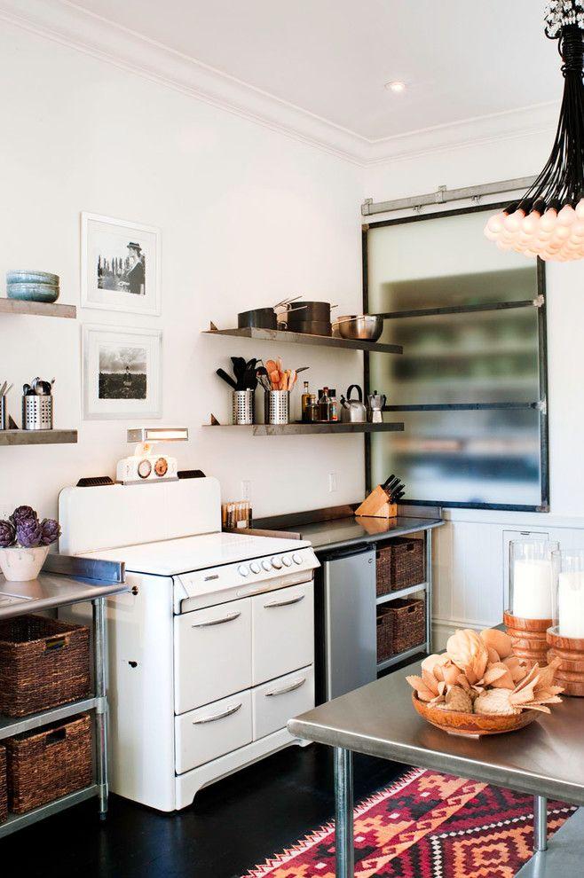 Tap Plastics for a Shabby Chic Style Kitchen with a Area Rug and Potrero Hill by Antonio Martins Interior Design