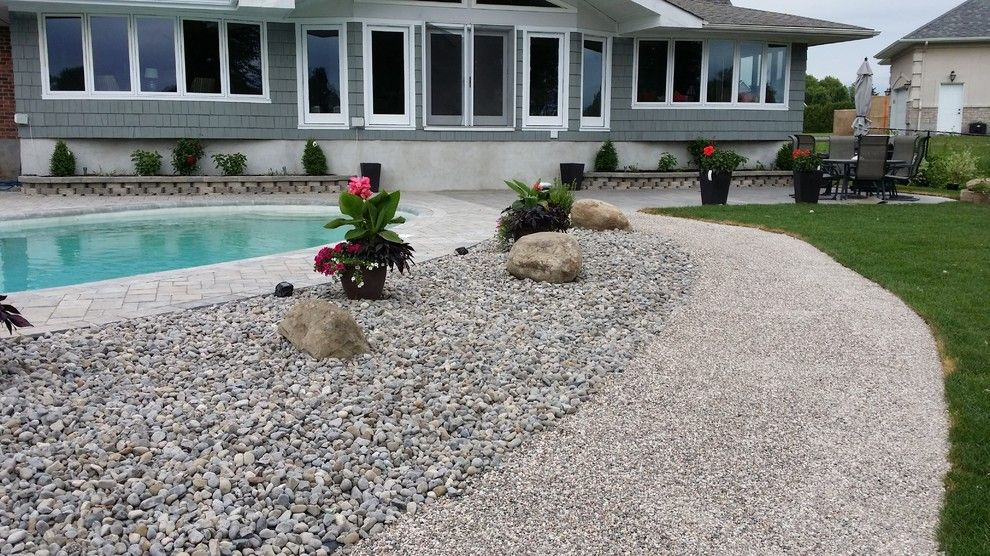 Tar and Chip Driveway for a Rustic Spaces with a Asphalt Alternative and Tar and Chip Ottawa by Tar and Chip Ottawa
