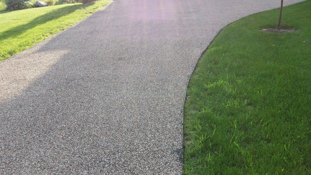 Tar and Chip Driveway for a Rustic Spaces with a Chip Seal and Tar and Chip Ottawa by Tar and Chip Ottawa