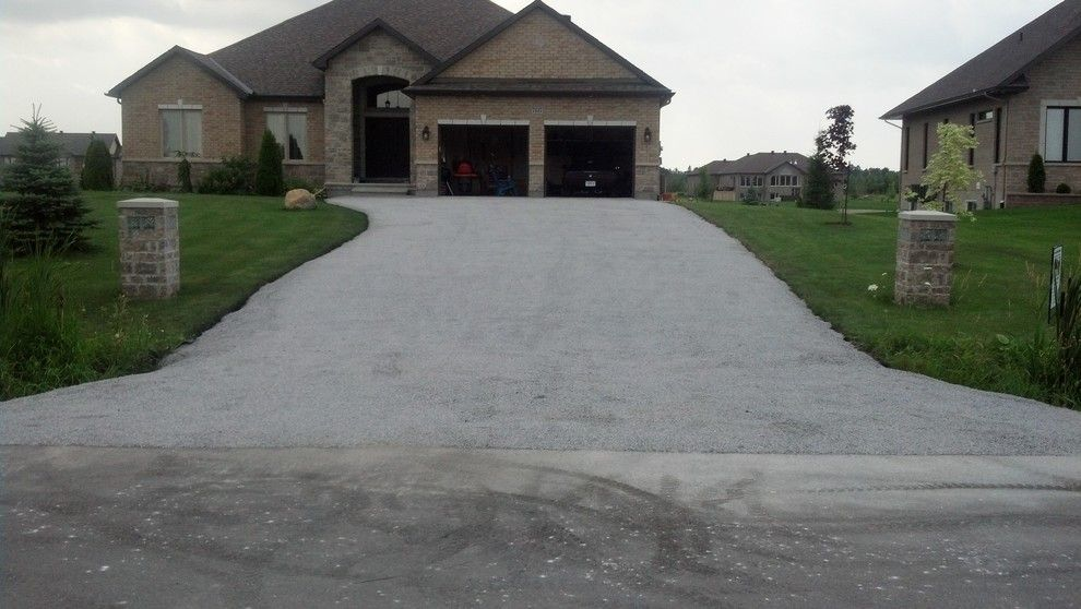 Tar and Chip Driveway for a Rustic Spaces with a Tar and Chip Driveway and Tar and Chip Ottawa by Tar and Chip Ottawa