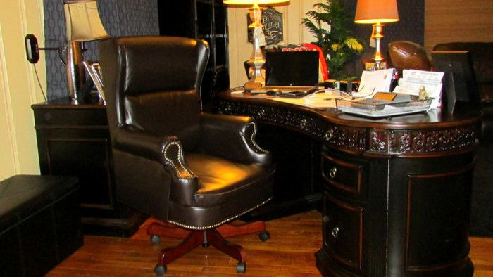 T&d Furniture for a  Spaces with a Leather Chair and Gallery by T&d Furniture
