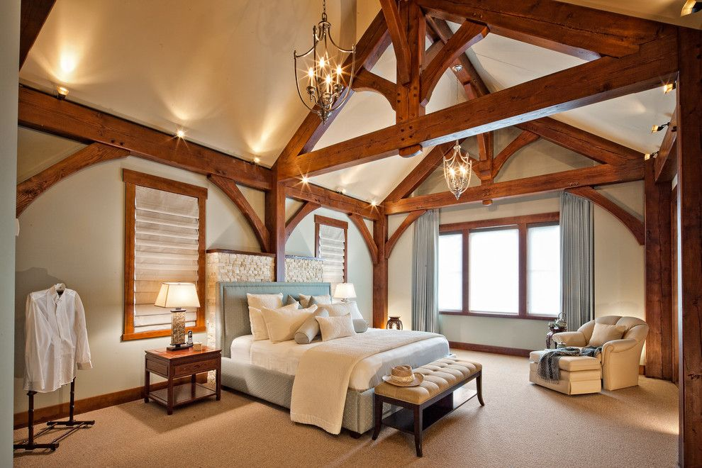 T&d Furniture for a Traditional Bedroom with a Traditional and Luxury Timber Frame by Tdswansburg Design Studio