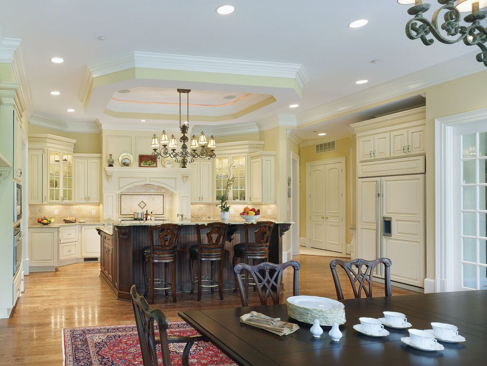 T&d Furniture for a Traditional Kitchen with a Cherry and Kitchen Remodel #3   Rockville Md by Ferguson Bath, Kitchen & Lighting Gallery
