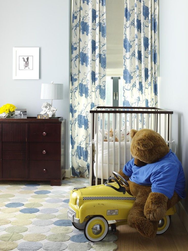 Teddy Bear Pools for a Traditional Nursery with a Wall Art and Nursery by Tara Seawright