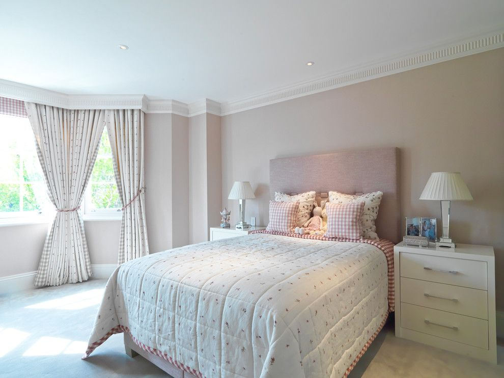 Teenage Girl Bedroom Ideas for a Transitional Kids with a Teenage Girl Bedroom and St Johns Wood Ii by Helen Ford Design