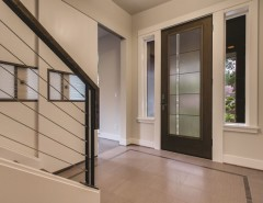 Thermatru for a Modern Entry with a Thermatru and Fiber-Classic Mahogany Door by Therma-Tru Doors