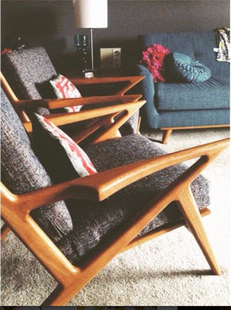 Thrive Home Furnishings for a Midcentury Living Room with a Mid Century Modern Home and Kennedy Chairs & Nixon Sofa   Thrive Furniture by Thrive Home Furnishings