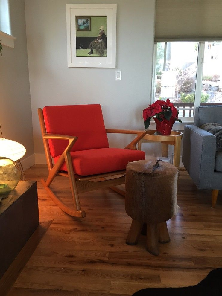 Thrive Home Furnishings for a Midcentury Spaces with a Mid Century Modern Sofa and Kennedy Rocker   Thrive Furniture by Thrive Home Furnishings