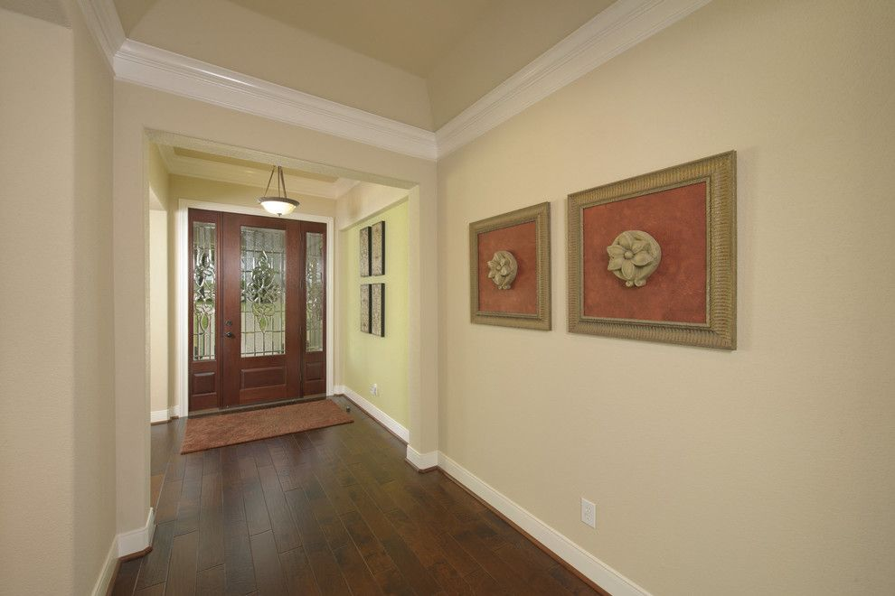 Tilson Homes for a Traditional Entry with a the Lancaster and the Lancaster by Tilson Homes