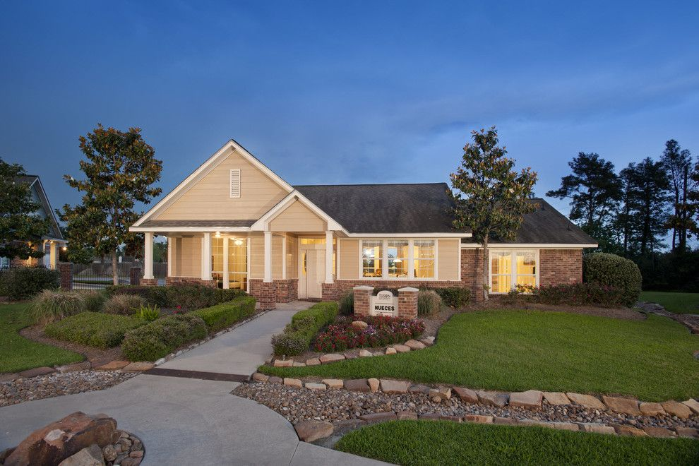 Tilson Homes for a Traditional Exterior with a the Nueces and the Nueces by Tilson Homes