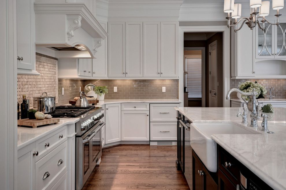 Tilson Homes for a Transitional Kitchen with a Transitional and Transitional Kitchen   Williamsburg Va by Ferguson Bath, Kitchen & Lighting Gallery