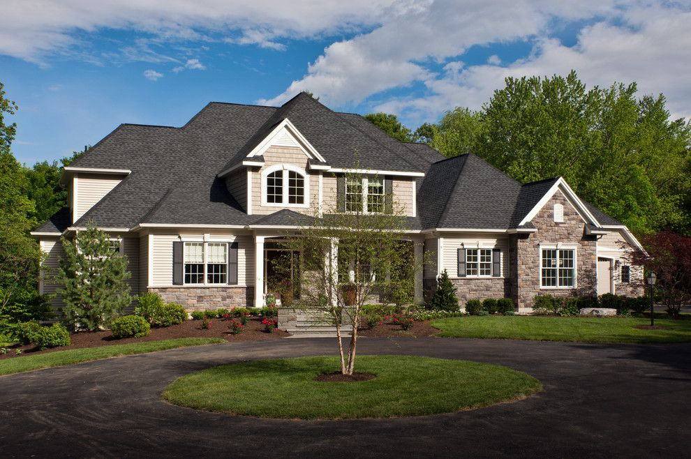 Tim O Brien Homes for a Traditional Exterior with a Exterior Custom and 2012 Parade of Homes by Belmonte Builders
