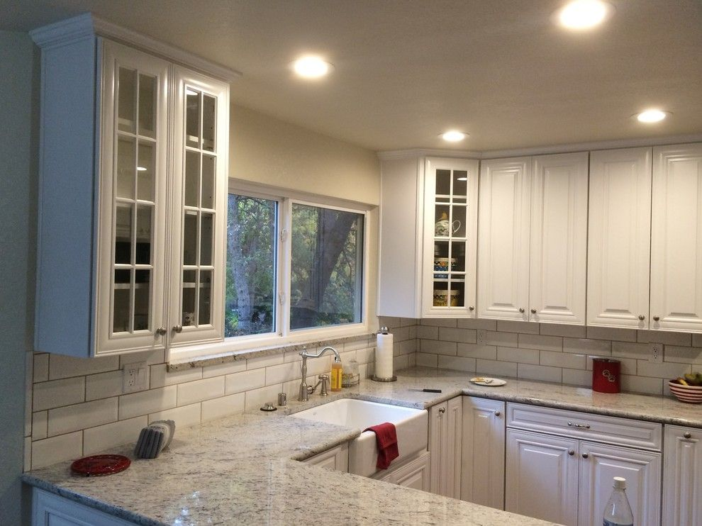 Timberlake Cabinets for a Traditional Kitchen with a Timberlake Cabinets and America's Dream Homeworks by America's Dream Homeworks