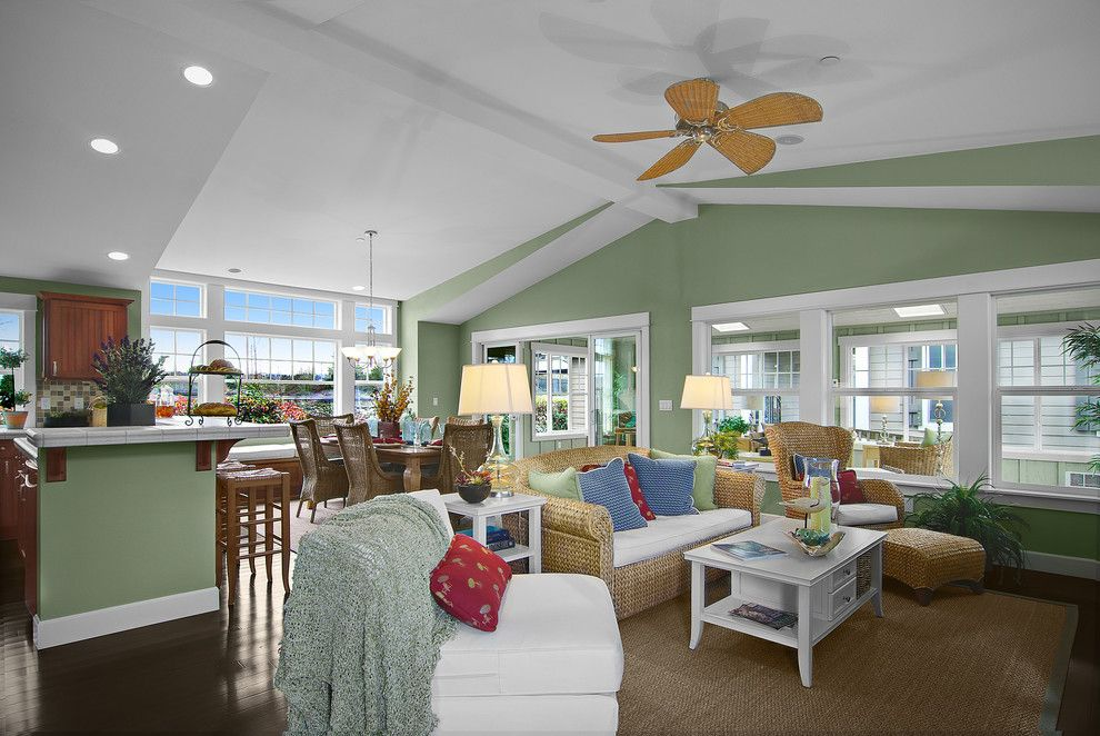 Timberland Homes for a Tropical Spaces with a Tile and Lopez by Timberland Homes Inc.