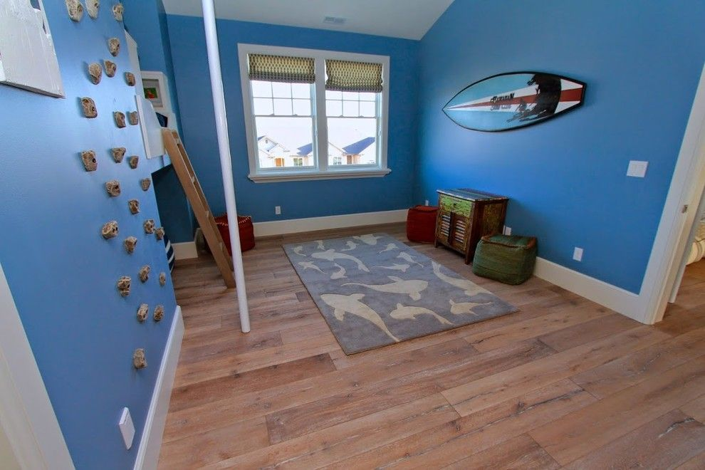 Titan Homes for a Beach Style Kids with a Shark Picture and Utah Valley Parade of Home Boys Room by Titan Homes