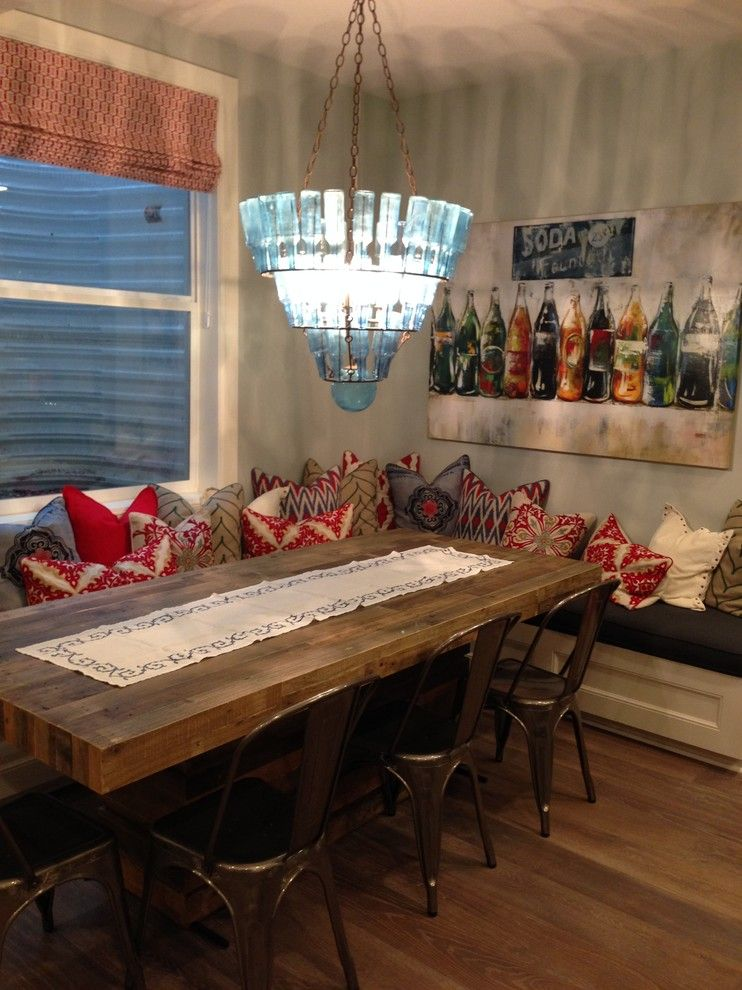 Titan Homes for a Farmhouse Dining Room with a Snack Bar and Utah Valley Parade of Home Basement by Titan Homes
