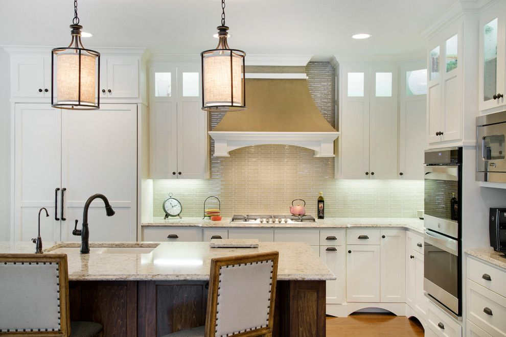 Tjb Homes for a Traditional Kitchen with a Custom Wood Range Hood and Langsev Whole Home Remodel by Tjb Homes, Inc. Remodeling Division
