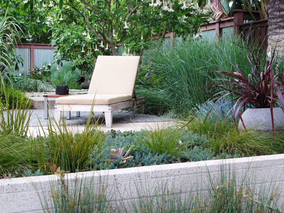 Tool Rental Lowes for a Contemporary Landscape with a Galvanized Metal Fence and Debora Carl Landscape Design by Debora Carl Landscape Design
