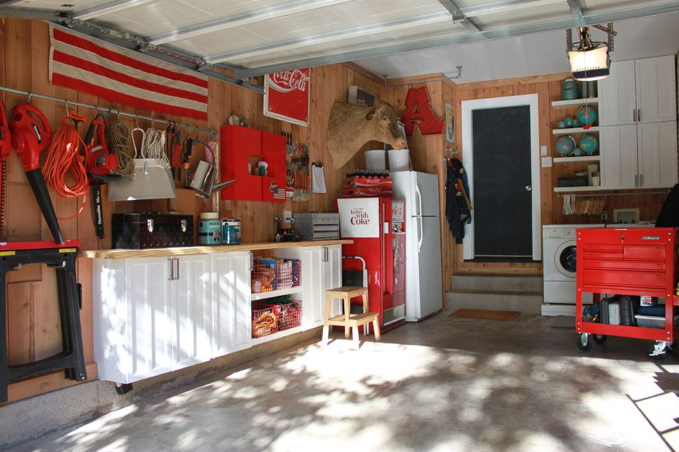 Tool Rental Lowes for a Eclectic Garage with a Concrete Slab and Garage Update on Cavender by the Cavender Diary