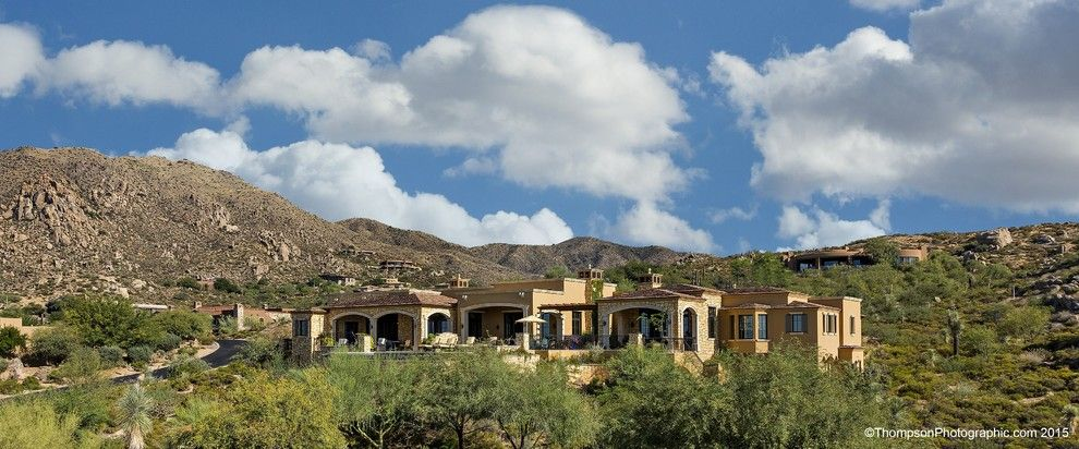 Tourfactory for a  Exterior with a Desert Mountain and Apache Peak 165 by the Power of 4   Berkshire Hathaway