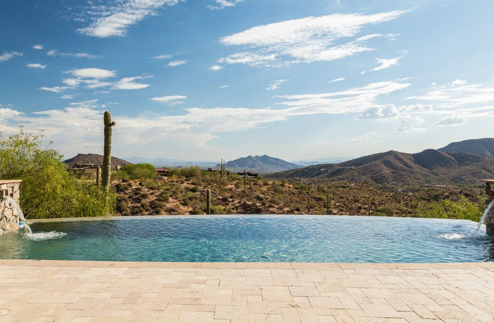 Tourfactory for a Mediterranean Pool with a Golf Course Community and for Sale   Saguaro Forest 180   Desert Mountain, Scottsdale, Az by the Power of 4   Berkshire Hathaway