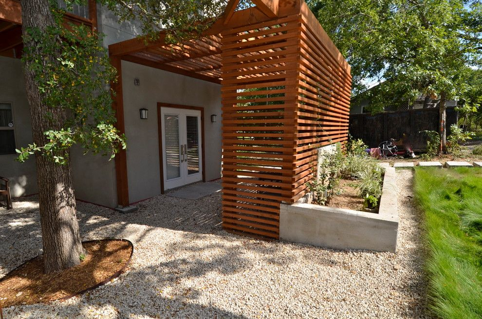 Treehouse Austin for a Contemporary Exterior with a Sconces and Esg Unit One by Ísark Studio