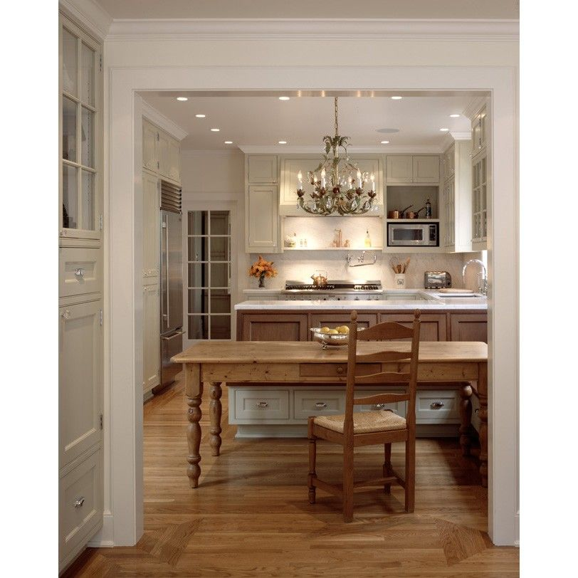 Triangle Bulbs for a Traditional Kitchen with a Glass and St. Francis Woods Residence by Moroso Construction