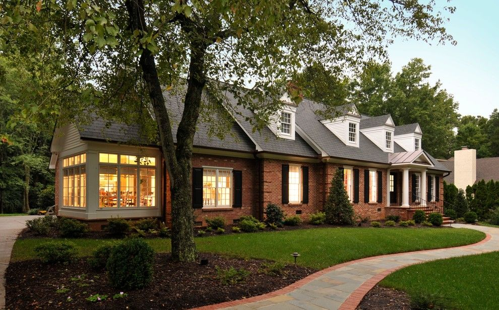 True Homes Charlotte Nc for a Traditional Exterior with a Path and Additions & Renovations by Advanced Renovations, Inc.